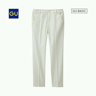 ジーユー(GU)の新品☆GUテーパードチノ/ホワイト(チノパン)