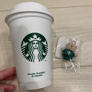 Starbucks Coffee - スターバックス⭐︎ベアリスタキャップ⭐︎新品⭐︎リユーザブルカップ