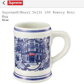 シュプリーム(Supreme)のSupreme Royal Delft 190 Bowery Beer Mug (グラス/カップ)