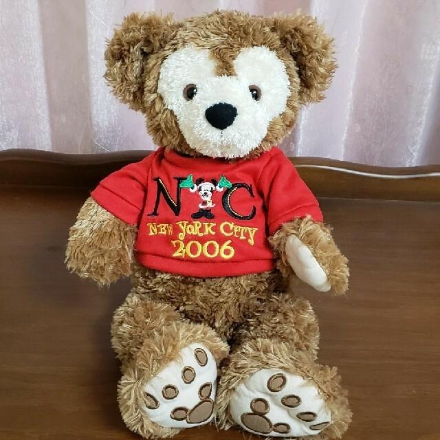 ダッフィー(ダッフィー)のNYC 2006 クリスマスホリデー ディズニーベア ダッフィー ぬいぐるみ エンタメ/ホビーのおもちゃ/ぬいぐるみ(ぬいぐるみ)の商品写真