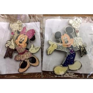 ディズニー(Disney)の【非売品・新品・未使用】TDR25周年 ミッキー&ミニー ランヤードアクセサリー(キャラクターグッズ)