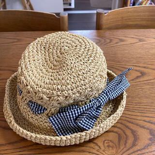 ブランシェス(Branshes)のブランシェス 麦わら帽子 サイズ56cm(帽子)