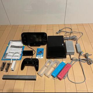 ウィーユー(Wii U)の【お値下げしました】Wii U 32GB 本体 +付属品等(家庭用ゲーム機本体)