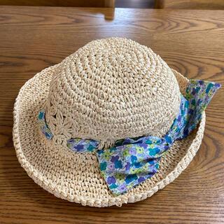 ブランシェス(Branshes)のブランシェス 麦わら帽子 サイズ54cm(帽子)