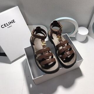 celine - Celine  茶色のサンダル