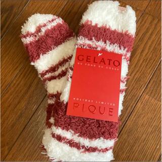 gelato pique - gelato pique クリスマス 限定 ロング ソックス