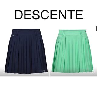 デサント(DESCENTE)のDESCENTEレディース 韓国プリーツスカート 新品、正規品(ウエア)