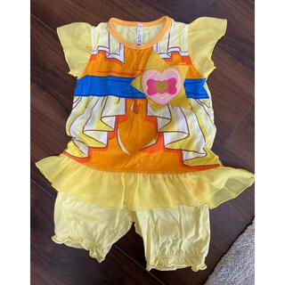 バンダイ(BANDAI)のプリキュアなりきりパジャマ サイズ100cm(パジャマ)