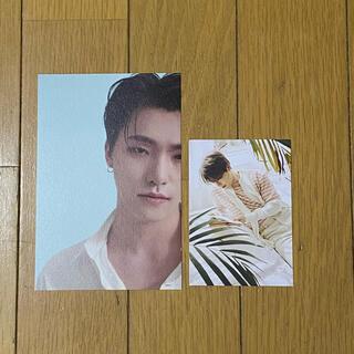 セブンティーン(SEVENTEEN)のセブチ ポスカ トレカ カード ディノ 2点セット(K-POP/アジア)