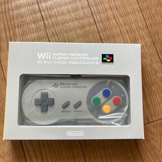 Wii - Wii スーパーファミコン クラシックコントローラ