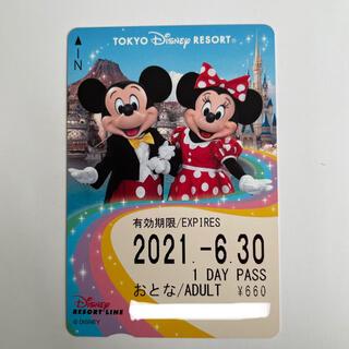 ディズニー(Disney)のディズニー リゾートライン フリー切符(鉄道乗車券)