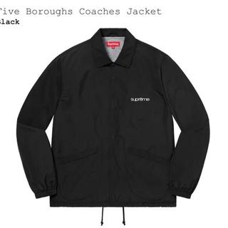 Supreme - Five Boroughs Coaches Jacket 黒S