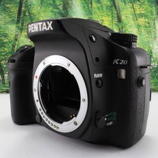 ペンタックス(PENTAX)のPENTAX デジタル一眼レフカメラ K20D ボディ(デジタル一眼)