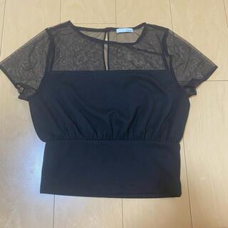 リゼクシー(RESEXXY)のRESEXXY♡シースルートップス(Tシャツ(半袖/袖なし))