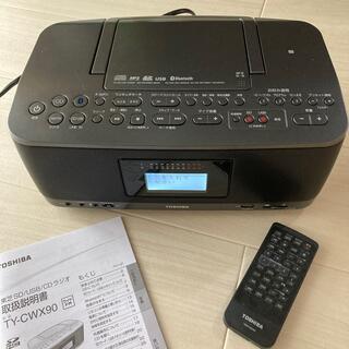 トウシバ(東芝)のSD USB CDラジオ(ポータブルプレーヤー)