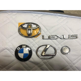 トヨタ(トヨタ)の車 エンブレム(トヨタ、BMW、Benz、レスサス)(車外アクセサリ)