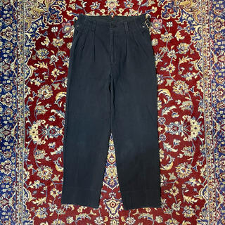 ISSEY MIYAKE - 90s DOMON adjuster 2-tuck trousers