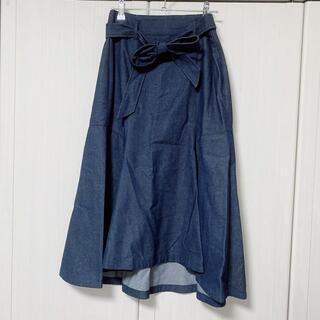 ナノユニバース(nano・universe)のナノ ユニバース レディース ロングスカート Lサイズ(ロングスカート)