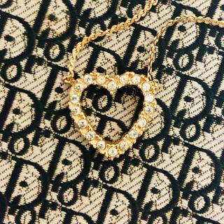 Christian Dior - クリスチャンディオール ❤️ ハート ヴィンテージ ネックレス