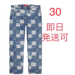シュプリーム(Supreme)のSupreme Patched Denim Painter Pant 30(デニム/ジーンズ)