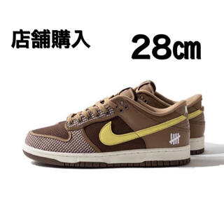 NIKE - 28.0cm UNDEFEATED x NIKE DUNK LOW ダンク