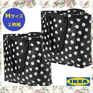 イケア(IKEA)の新作IKEAイケアスクルッティグ♪キャリーバッグショッピングバッグM2枚セット(エコバッグ)