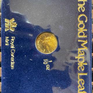 カナダ メイプルリーフ金貨 1/10オンス(その他)