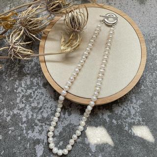 トゥデイフル(TODAYFUL)のfresh pearl necklace(ネックレス)