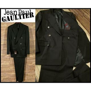 Jean-Paul GAULTIER - 新品 ジャンポールゴルチエ 6つ釦 ダブル ジャケット スラックス スーツ 46