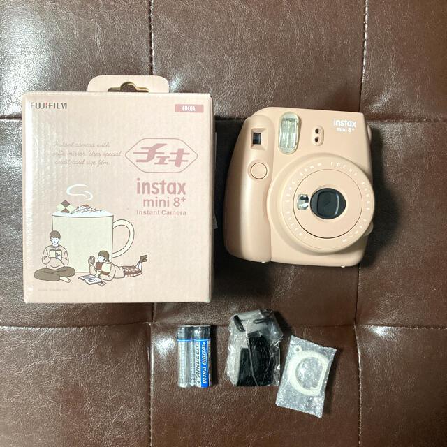 富士フイルム(フジフイルム)の【新品未使用】チェキ instax mini8+ スマホ/家電/カメラのカメラ(フィルムカメラ)の商品写真