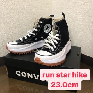 CONVERSE - Converse ブラック Run Star Hike 23cm