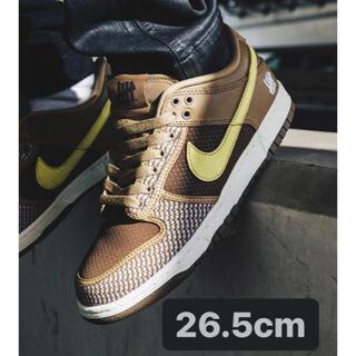 ナイキ(NIKE)の【26.5cm】UNDEFEATED × Nike DUNK LOW SP(スニーカー)