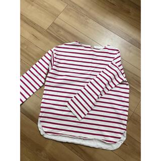 ケービーエフ(KBF)の美品 KBF   BIGボーダーTシャツ(Tシャツ(長袖/七分))