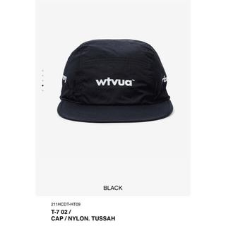 W)taps - WTAPS t-7 02/CAP/NYLON.TUSSAH BLACK