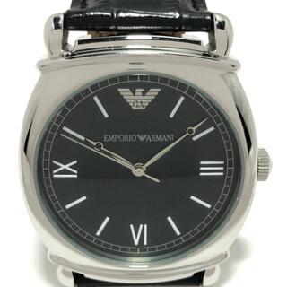エンポリオアルマーニ(Emporio Armani)のアルマーニ 腕時計 - AR-0263 メンズ 黒(その他)