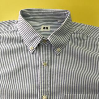 UNIQLO - ユニクロ オックスフォードボタンダウンシャツ   L、