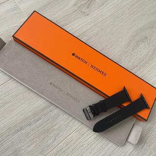 エルメス(Hermes)のApple Watch Hermès ヴォー・スウィフト 44mm(レザーベルト)