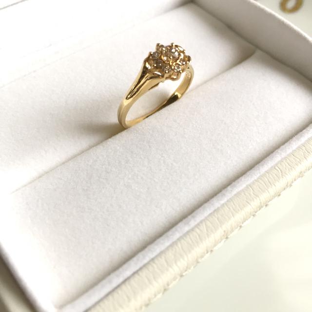 18金リング✨ダイヤモンド✨ レディースのアクセサリー(リング(指輪))の商品写真
