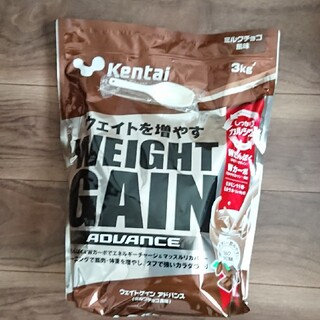 Kentai(ケンタイ) ウェイトゲインアドバンス ミルクチョコ風味(3kg)(プロテイン)