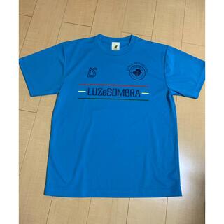 ルース(LUZ)のluzesombra ルースイソンブラ プラシャツ L 青 未使用品(ウェア)