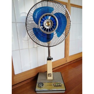 パナソニック(Panasonic)の動作確認済み 昭和レトロ ナショナル扇風機(扇風機)