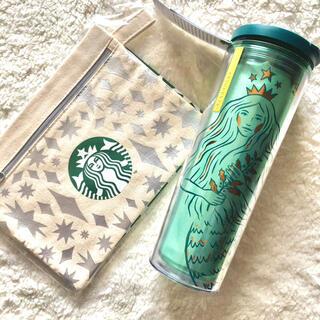 Starbucks Coffee - スタバ☆アニバーサリータンブラーサイレン & ホリデーポーチ