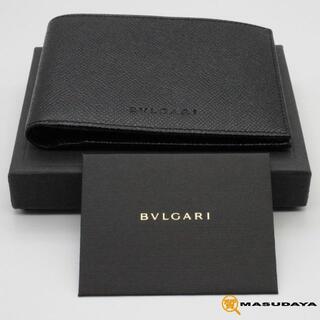 ブルガリ(BVLGARI)のブルガリクラシコ2っ折り財布【未使用展示品】(折り財布)