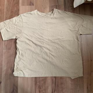 coen - coen Tシャツ ベージュ おしゃれな後ろ姿