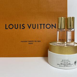 LOUIS VUITTON - ルイヴィトン 香水 ローズデヴァン 7.5mL レフィル 2本