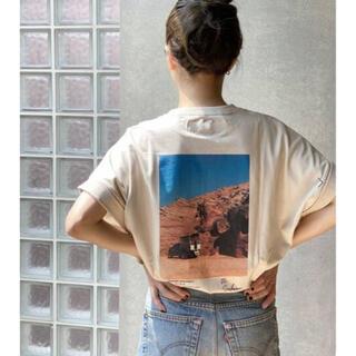 プラージュ(Plage)のplage tシャツ バッグプリント ジェーンスミス(Tシャツ(半袖/袖なし))