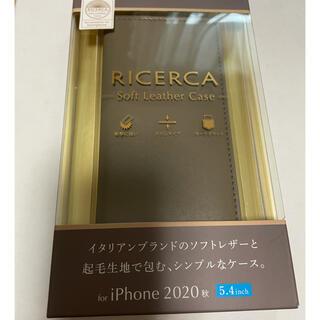 ELECOM - iPhone12 mini  グリージョ手帳型ケース エレコム