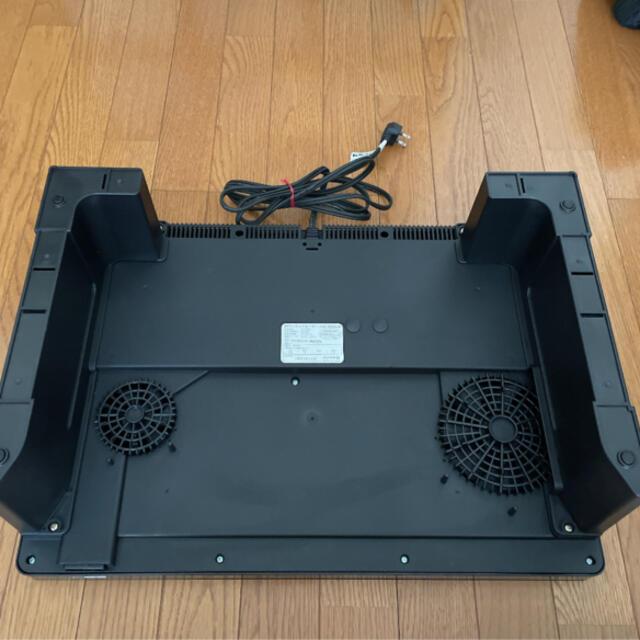 アイリスオーヤマ(アイリスオーヤマ)のアイリスオーヤマ IH 2口 IRIS IHC-W2S-B スマホ/家電/カメラの調理家電(調理機器)の商品写真