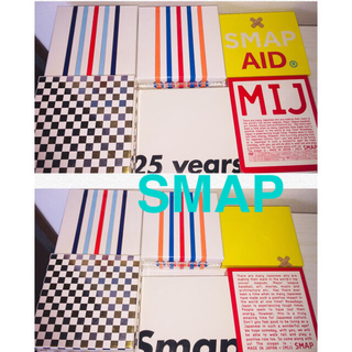 SMAP - SMAP GIFT & Live MIJ & 25 YEARS &  AID