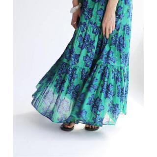 イエナ(IENA)のIENA SARA MALLIKA/サラマリカ BIG FLOWER スカート(ロングワンピース/マキシワンピース)